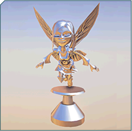 Fairy Hood Ornament Sample